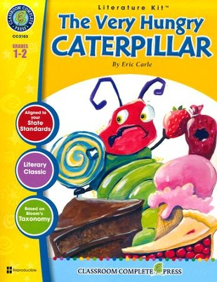 The Very Hungry Caterpillar (Eric Carle) Literature Kit  -     By: Marie-Hellen Goyetche
