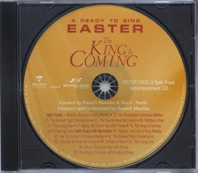 The King Is Coming (Split Track Accompaniment CD)   -