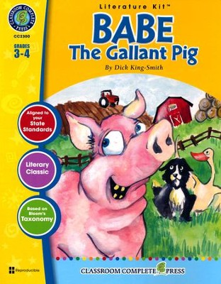 Babe: The Gallant Pig (Dick King-Smith) Literature Kit  -     By: Nat Reed