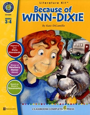 Because of Winn-Dixie Literature Kit (for Grades 3-4)   -     By: David McAleese