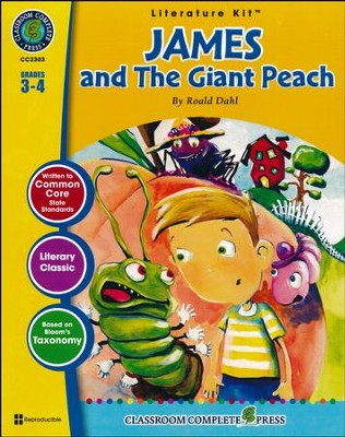 James and the Giant Peach (Roald Dahl) Literature Kit  -     By: Marie-Hellen Goyetche