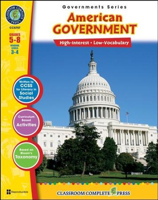 American Government Grades 5-8  -     By: Brenda Rollins