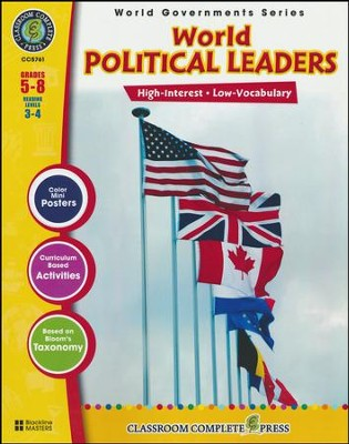 World Political Leaders Grades 5-8  -     By: Darcy Frisina