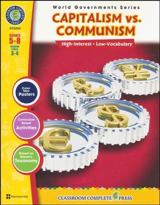 Capitalism vs. Communism Grades 5-8  -     By: Darcy Frisina
