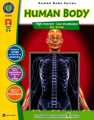 Human Body Big Book Grades 5-8  -     By: Susan Lang