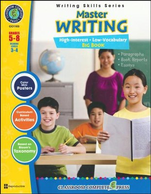 Master Writing Big Book Grades 5-8  -     By: Brenda Rollins
