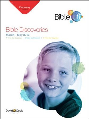 Bible-in-Life: Elementary 'Bible Discoveries' Student Book, Spring 2018  -