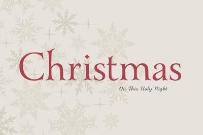 Christmas: On This Holy Night: On This Holy Night - eBook  -