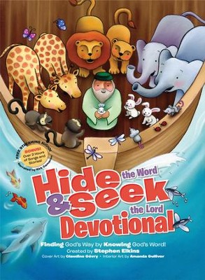 Hide and Seek Devotional - eBook  -     By: Stephen Elkins