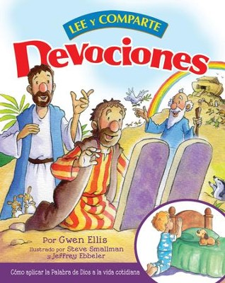 Devociones lee y comparte - eBook  -     By: Gwen Ellis