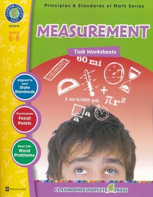 Measurement Task Sheets Grades 6-8  -     By: Chris Forrest