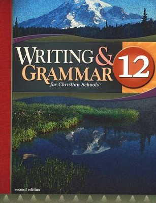 BJU Writing & Grammar Grade 12 Student Worktext, Second Edition    -
