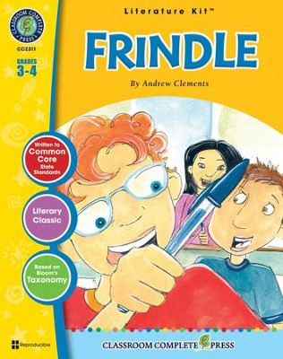 Frindle (Andrew Clements) Literature Kit  -     By: Staci Marck