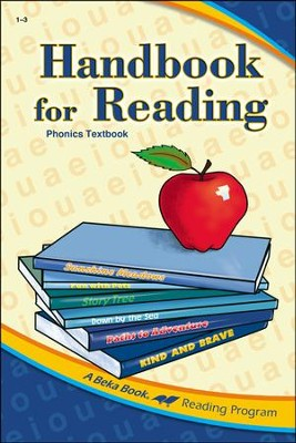 Abeka Handbook for Reading Phonics Textbook   -