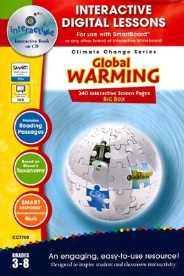 Global Warming Big Box Interactive Digital Lessons on CD-ROM Grades 3-8  -     By: Erika Gombats-Gasper