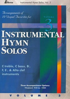 Instrumental Hymn Solos, Vol. 3, Book  -