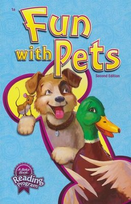 Abeka Fun with Pets Reader Grade 1 (New Edition)   -