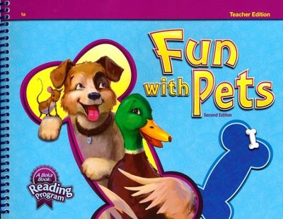 Abeka Fun with Pets Reader Teacher Edition Grade 1 (New  Edition)  -