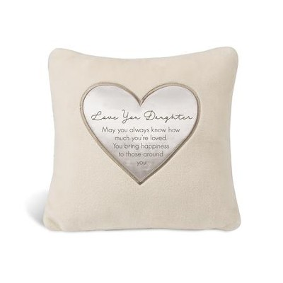Love You Daughter Pillow  -