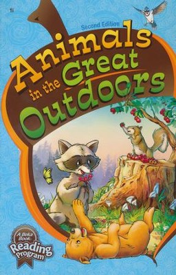 Abeka Animals in the Great Outdoors Reader Grade 1 (New  Edition)  -