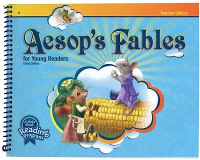 Abeka Aesop's Fables Reader Grade 1 Teacher Edition (New  Edition)  -