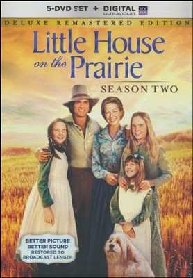 Little House on the Prairie: Season Two, Deluxe Edition,  5-DVD Set/Digital Ultraviolet   -