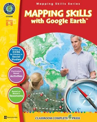 Mapping Skills with Google Earth Grades 6-8  -     By: Paul Bramley