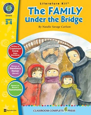 The Family Under the Bridge (Natalie Savage Carlson) Literature Kit  -     By: Nat Reed