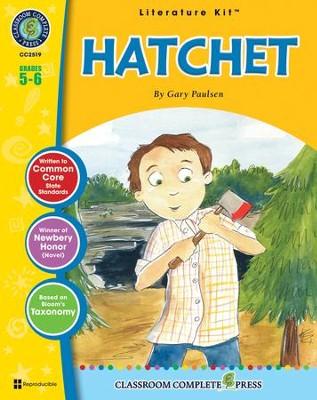 Hatchet literature kit for grades 5 6 sarah joubert hatchet literature kit for grades 5 6 by sarah joubert fandeluxe Image collections