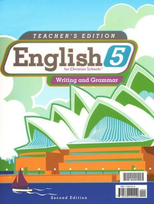 BJU English Grade 5 Teacher's Edition (Second Edition)    -