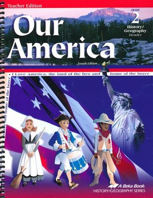 Abeka Our America Grade 2 History/Geography Teacher Edition   -
