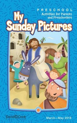 Bible-in-Life: Preschool 'Sunday Pictures' Take-Home, Spring 2018  -
