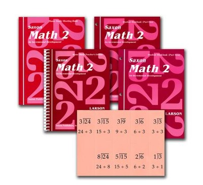 Saxon Math 2, Home Study Kit   -     By: Saxon