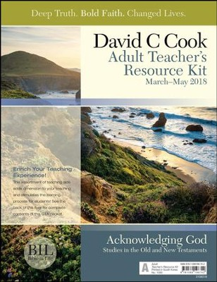 Bible-in-Life: Adult Teacher's Resource Kit, Spring 2018  -