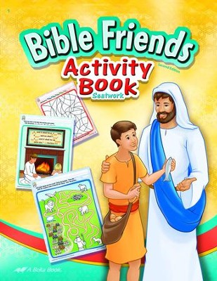 Abeka Bible Friends Activity Book (New Edition)   -
