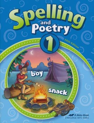 Abeka Spelling and Poetry 1 (New Edition)   -