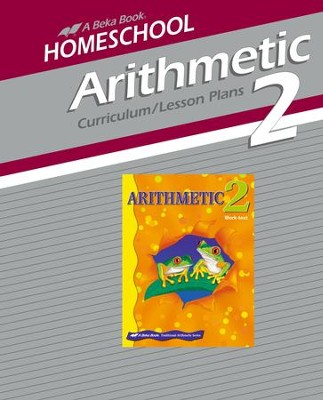 Abeka Homeschool Aritmetic 2 Curriculum/Lesson Plans   -