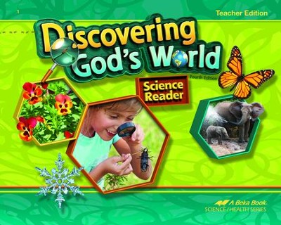 Abeka Discovering God's World Grade 1 Teacher Edition (New  Edition)  -