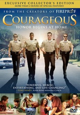 Courageous: Exclusive Collector's Edition, DVD   -