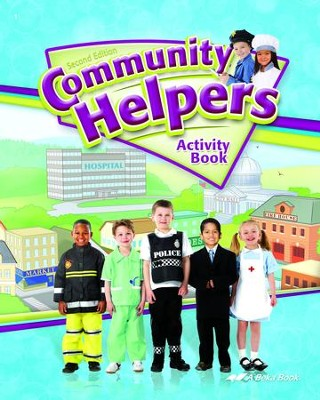 Abeka Community Helpers Activity Book (2nd Edition)  -