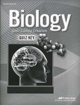 Abeka Biology: God's Living Creation Quizzes Key (Updated  Edition)  -