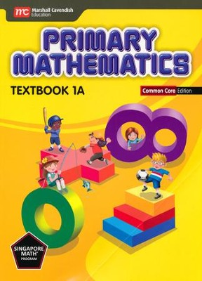 Primary Mathematics Textbook 1A Common Core Edition   -