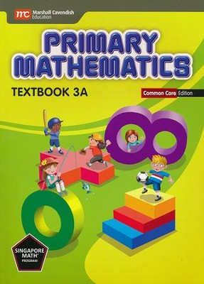 Primary Mathematics Textbook 3A Common Core Edition   -