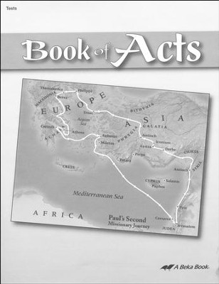 Abeka Book of Acts Tests   -