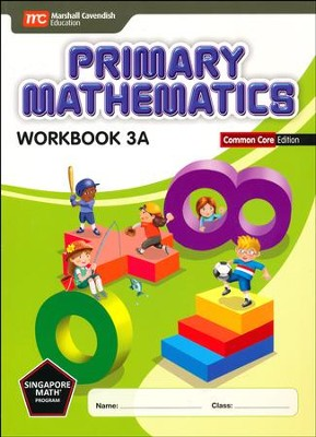 Primary Mathematics Workbook 3A Common Core Edition   -