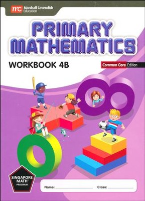 Primary Mathematics Workbook 4B Common Core Edition   -