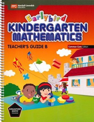 Earlybird Kindergarten Math Common Core Edition Teacher Guide B  -