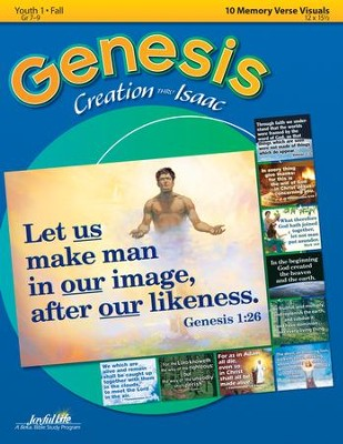 Genesis: Creation - Isaac Youth 1 (Grades 7-9) Memory Verse Visuals  -