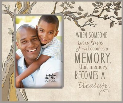 When Someone You Love Becomes A Memory Photo Frame - Christianbook.com