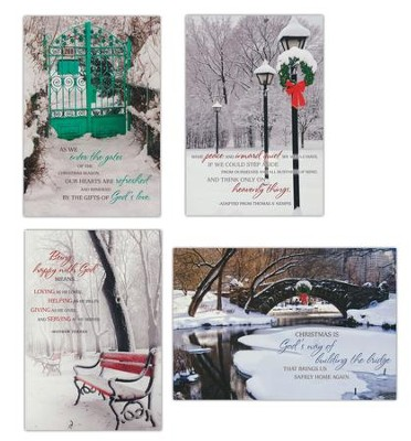 All is Calm Christmas Cards, Box of 12  -